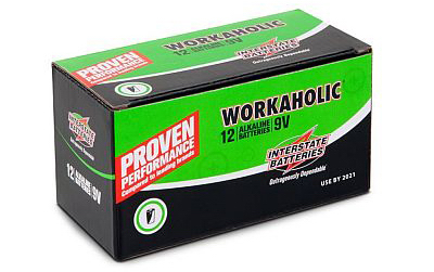 9v Interstate Battery - 24pcs Bulk Pack