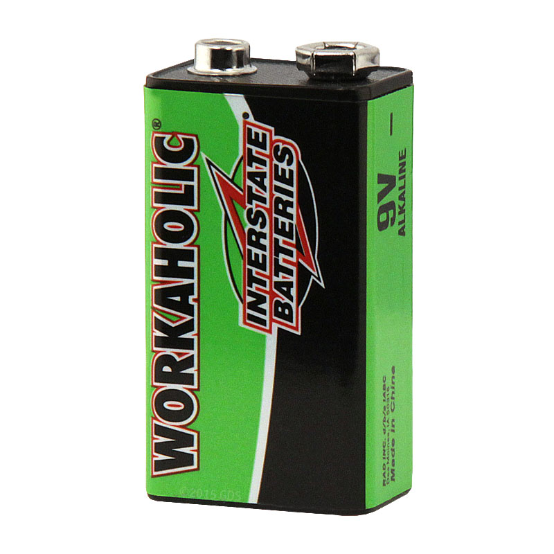9v Interstate Battery