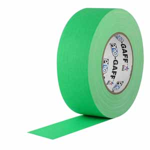 "2"" Neon Green - Pro Gaff Tape"
