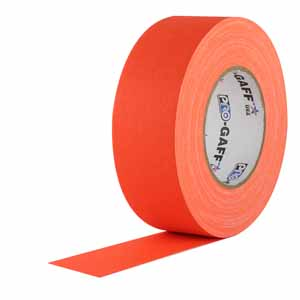"2"" Orange - Pro Gaff Tape"