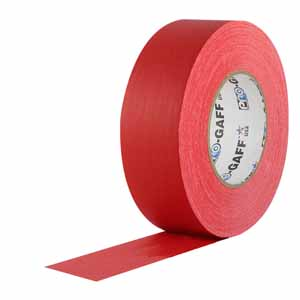 "2"" Red - Pro Gaff Tape"