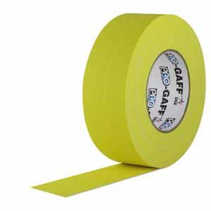 """2"""" Yellow - Pro Gaff Tape"""